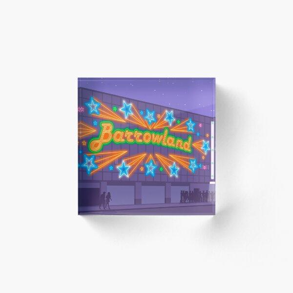 Glasgow Barrowland Ballroom Acrylic Block