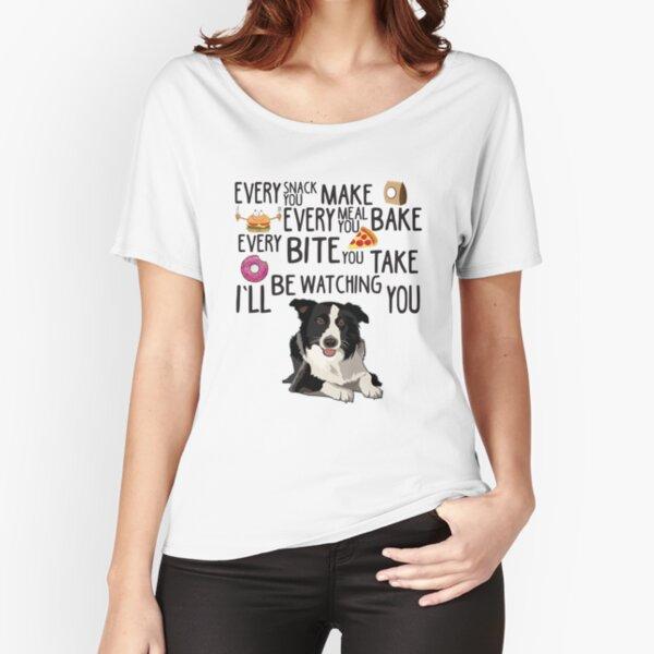 Border Collie T-Shirt Mens dog lover gift present