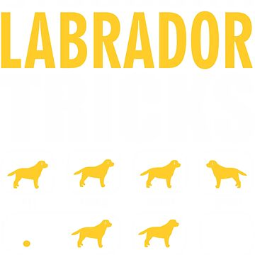 Stubborn Labrador Dog Tricks T shirt Perfect Gift For Labrador Pet Lovers by funnyguy