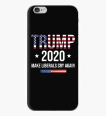 Donald Trump Election 2020 Make Liberals Cry Again Shirt iPhone Case