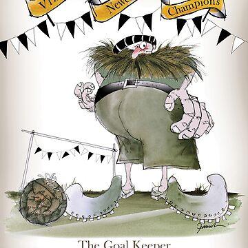 Newcastle Utd Goalkeeper by tonyfernandes1
