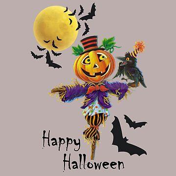 Halloween Scarecrow  by JuditR
