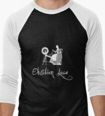 Latinive Logo in white Men's Baseball ¾ T-Shirt