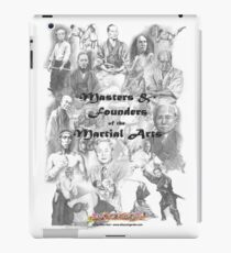 Masters and Founders of Martial Arts calendar iPad Case/Skin