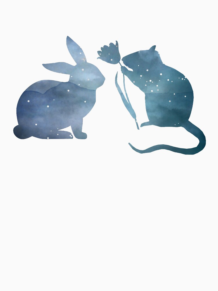 Rat & Rabbit by GwendolynFrost
