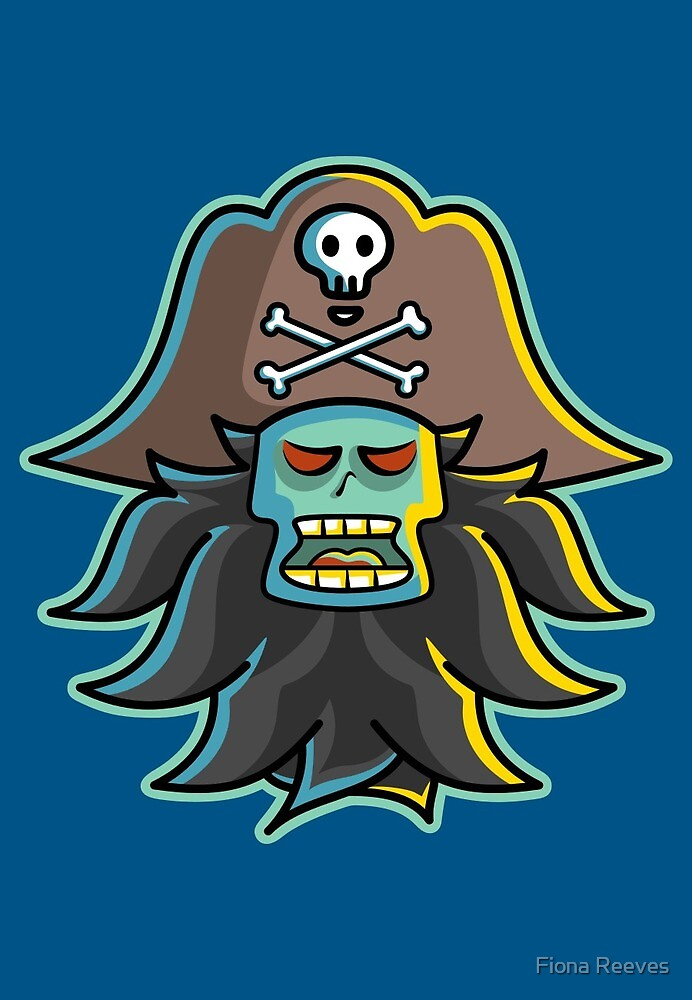 Pirate LeChuck by Fiona Reeves