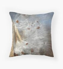 Silky in sun Throw Pillow