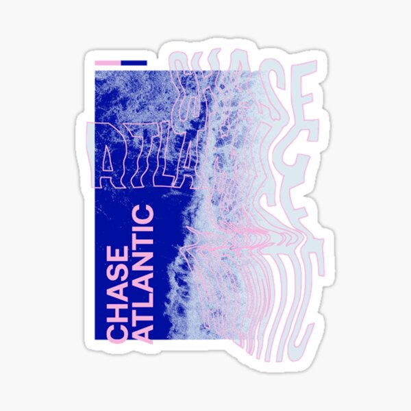 chase atlantic tidal wave Sticker