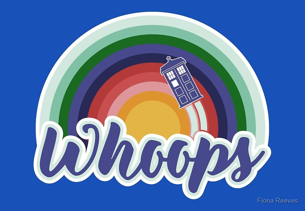 Retro Whoops by Fiona Reeves