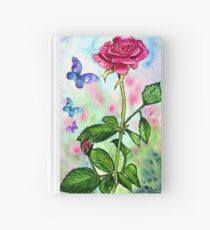 The Scent of a Rose Hardcover Journal
