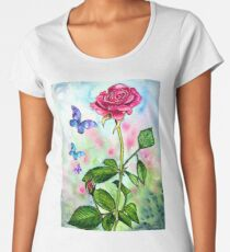 The Scent of a Rose Women's Premium T-Shirt