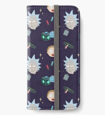 Rick and Morty Pattern iPhone Wallet/Case/Skin