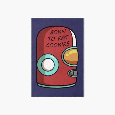 Final Space Gary Born To Eat Cookies Art Board Print