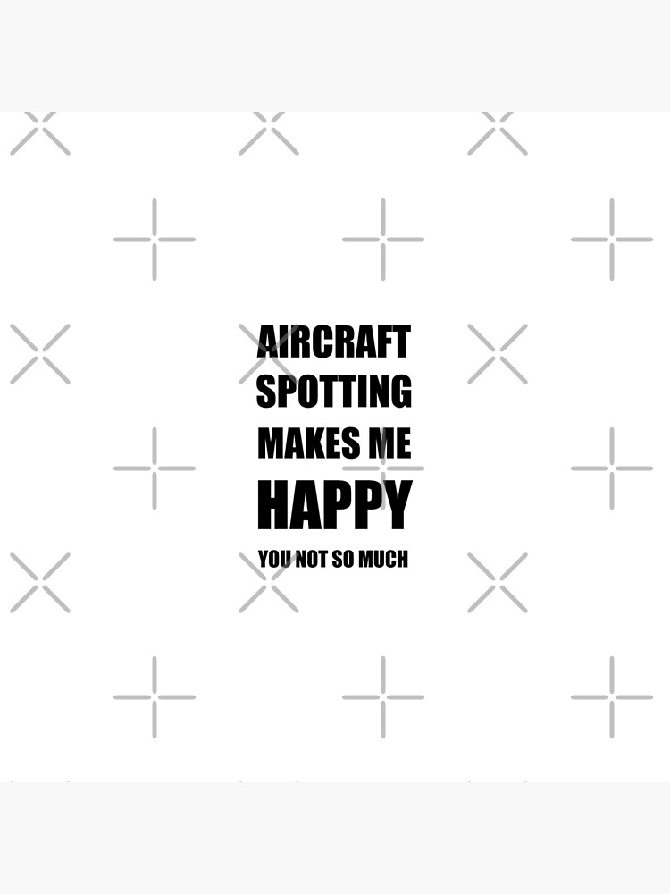 Aircraft Spotting Lover Fan Funny Gift Idea Hobby von FunnyGiftIdeas
