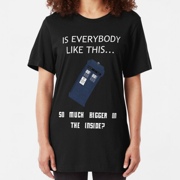 Is Everybody Like This...? Slim Fit T-Shirt