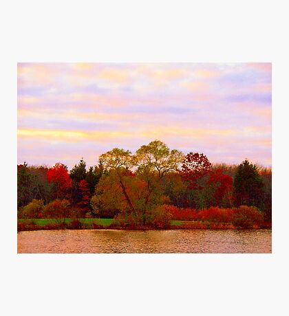 On Echo Lake  Photographic Print