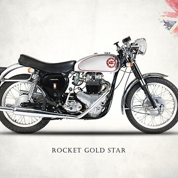 Rocket Gold Star Classic Motorcycle by rogue-design