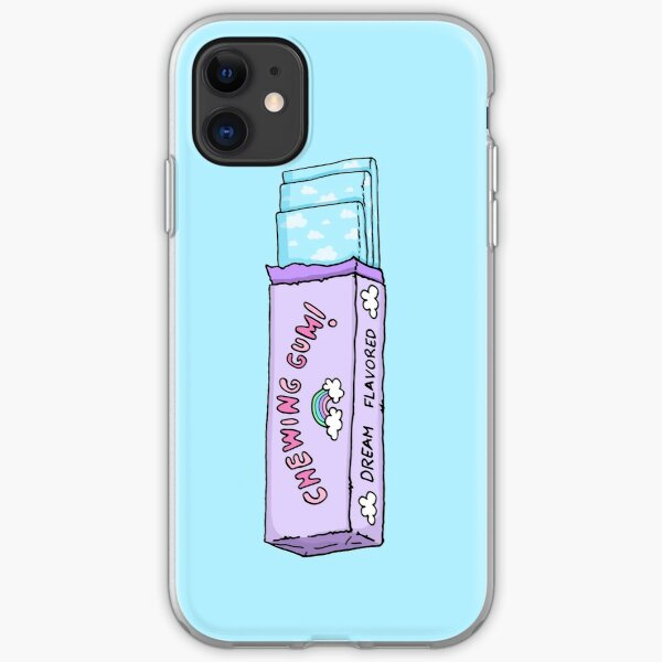 Chewing gum! iPhone Soft Case