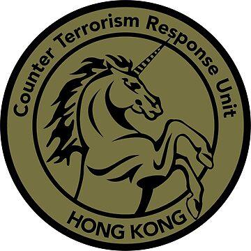 Hong Kong CTRU Badge by fareast