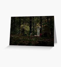 Family Cemetary Greeting Card
