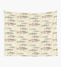 The fishes of India by Francis Day 075 - CarinatusMugil speigleri Wall Tapestry