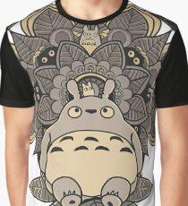 Mandala Nachbar Grafik T-Shirt