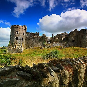 Carew - Mediaeval Castle -Pembrokeshire by rennaisance