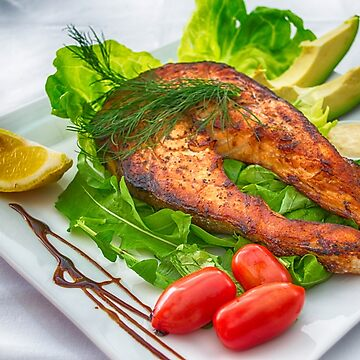 Grilled salmon by franceslewis