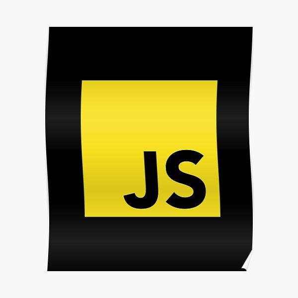 JavaScript Programmer Logo Poster