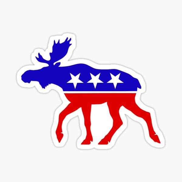 Bull Moose Party Logo Sticker