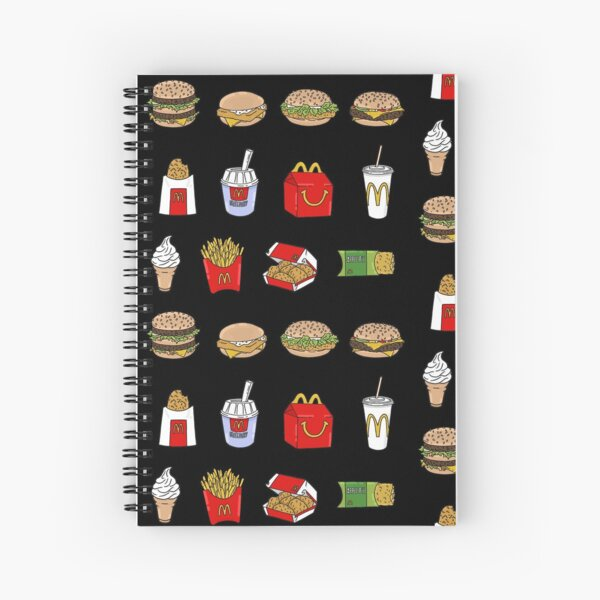 Time for a Maccas run Spiral Notebook