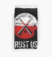 Pink Floyd TRUST US worn Duvet Cover
