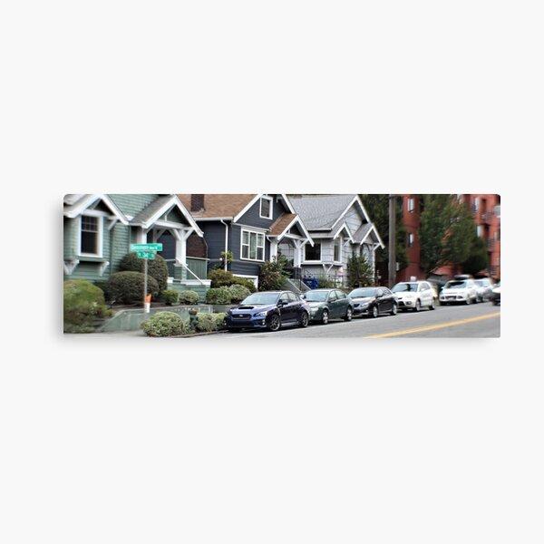 Subaru Impreza STI from seattle Canvas Print