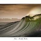 Isaac's Right - Friendly Beaches, Tasmania by Liam Byrne