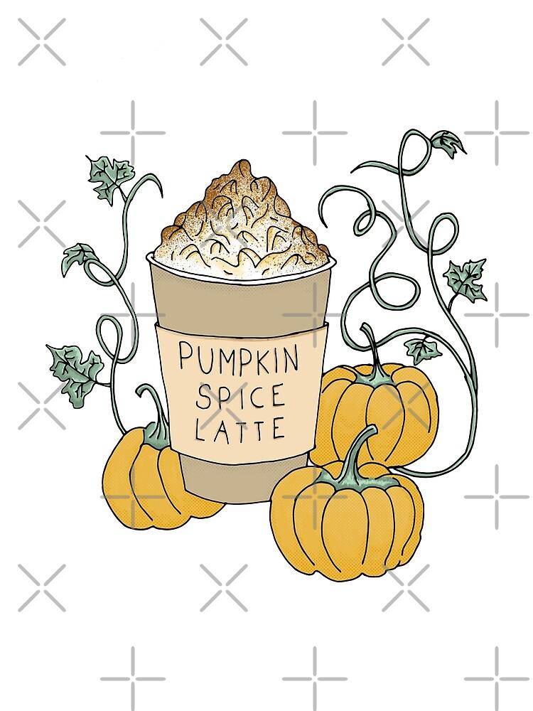 Pumpkin Spice Latte Drink by PrintablesP