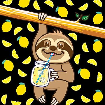 Sloth Lemonade by plushism