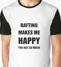 Rafting Lover Fan Funny Gift Idea Hobby Graphic T-Shirt