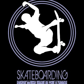 Skateboarding logo fan club by MegaSitioDesign