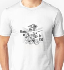 Cleaning up the yard Unisex T-Shirt