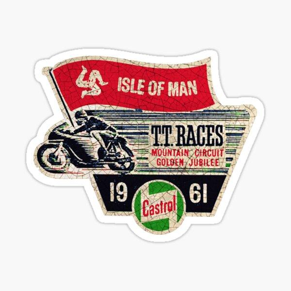 Isle of Man TT Races UK 1961 Sticker