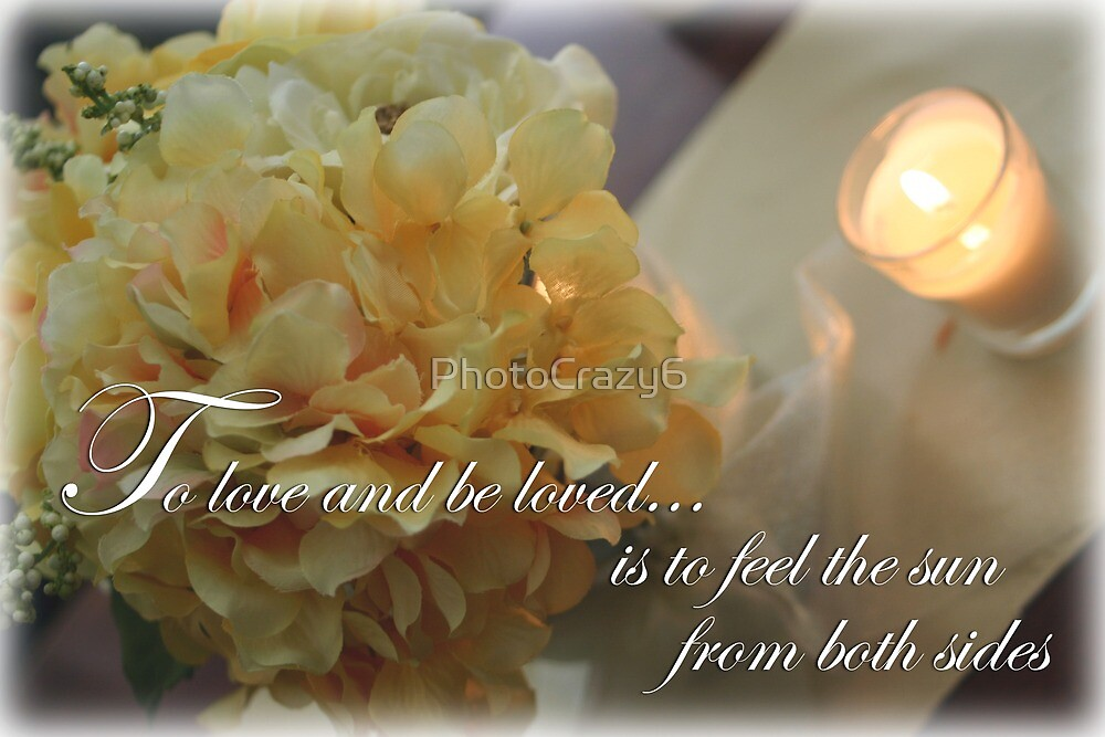 Yellow Flowers to Love Quote by PhotoCrazy6