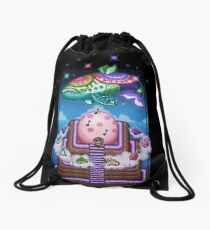 Wind Fish Drawstring Bag