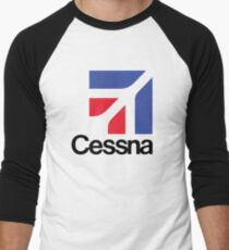 Cessna  Baseball ¾ Sleeve T-Shirt