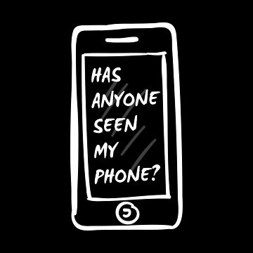 Funny Cell - Has Anyone Seen My Phone - Telephone Calling Talking Humor by stuch75