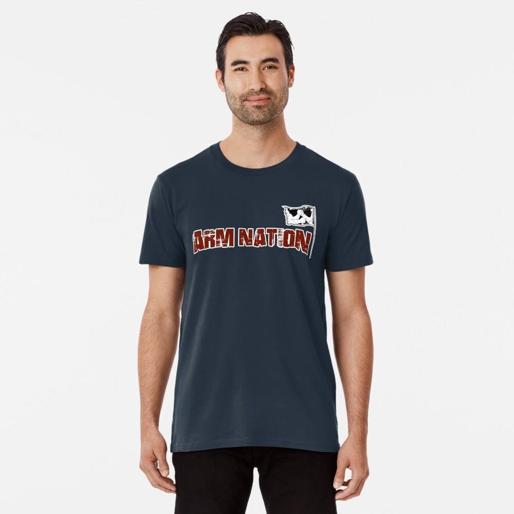Arm Nation Merchandise Men's Premium T-Shirt Front