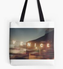 Venice Beach, vintage, oceanside, people,  beach photography, California photography Tote Bag