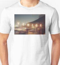 Venice Beach, vintage, oceanside, people,  beach photography, California photography Unisex T-Shirt