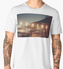 Venice Beach, vintage, oceanside, people,  beach photography, California photography Men's Premium T-Shirt