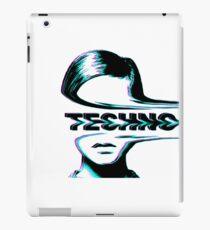 Música techno - estética Vinilo o funda para iPad