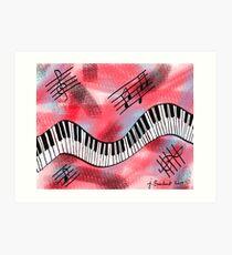 Music Moves Me Art Print